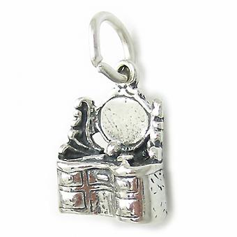 Vanity Table Dresser Sterling Silver Charm .925 X 1 Beauty Charms - 3451