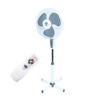 Stání ventilátoru - bílá - průměr 40 cm - 40 W - s dálkovým ovládáním