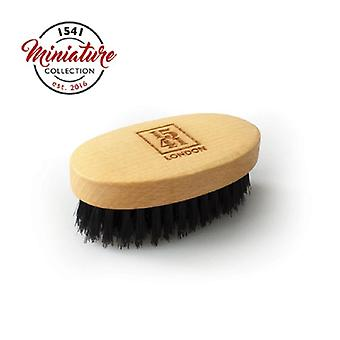 1541 London Mini Beard & Moustache Brush Beechwood