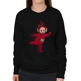 Teletubbies Po Fading Women's Sweatshirt