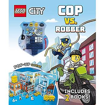 High-Speed Chase: Cop vs. Robber (Lego)