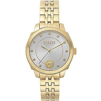 Versus by Versace Women's Watch Wristwatch Chelsea VSP510618 Stainless Steel