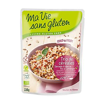 Cereal buckwheat trio and organic Camargue rice duo 220 g