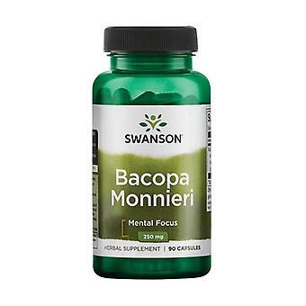 Bacopa Monnieri, 250mg 90 capsules