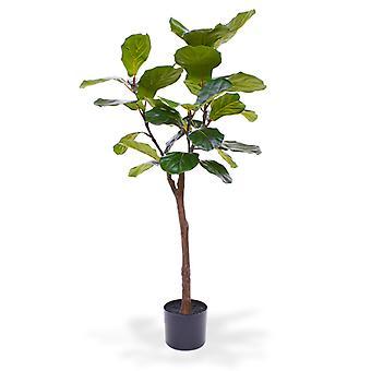 Künstlicher Lyrata-Kunstbaum auf Stamm 120 cm