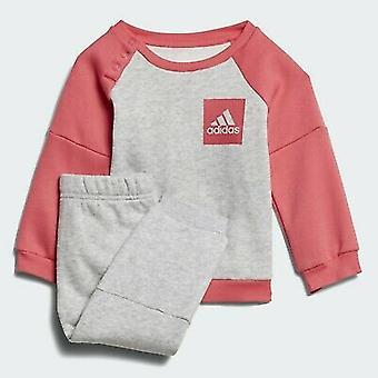 Adidas Pikkutyttöjen verryttelypuku - CF7382