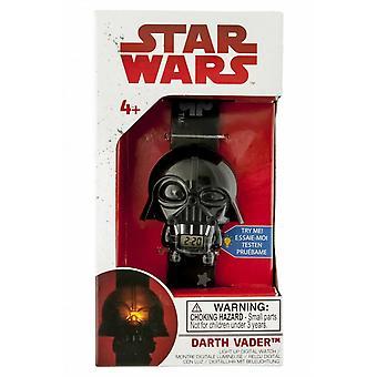 Star Wars darth vader rozsvícené hodinky