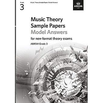 Music Theory Sample Papers Model Answers, ABRSM Grade 3 (Theory of Music Exam papers & answers (ABRSM))