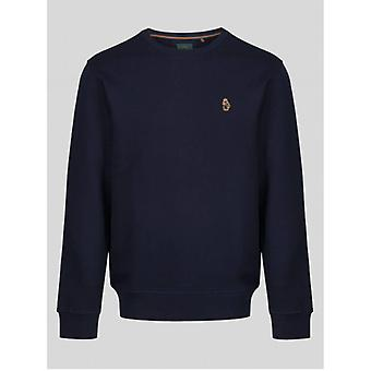 Luke 1977 London Sweat - Muy Dark Navy