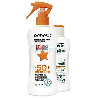 Babaria Solskyddspaket för barn Spf 50 + After sun