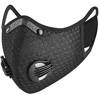 活性炭フィルターpm 2.5を備えた新しい近代的な公害防止サイクリングフェイスマスク