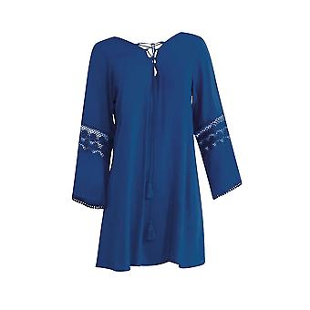 Sunflair Cool Mermaids 23811-26 Women's Blue Cover Up