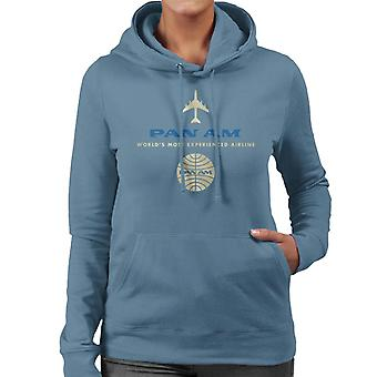 Pan Am Worlds Most Experienced Airline Women's Hooded Sweatshirt