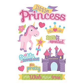 Paper House Productions - 3D Stickers - Little Princess