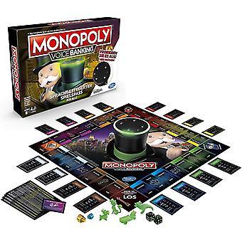 HanFei Gaming E4816GC2 Monopoly Voice Banking, sprachgesteuerter Familienspiel ab 8 Jahre,