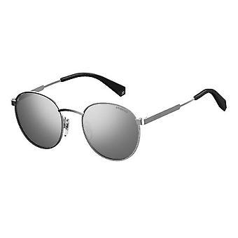 Polaroid PLD2053/S 010/EX Palladium/Polarised Grey-Silver Mirror Sunglasses