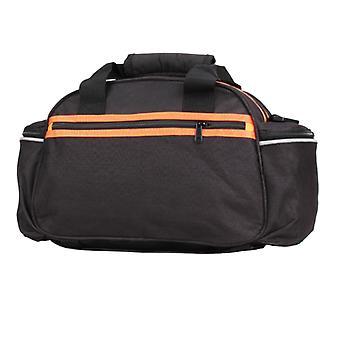 Foldable bicycle rear rack bag, portable waterproof cycling bag