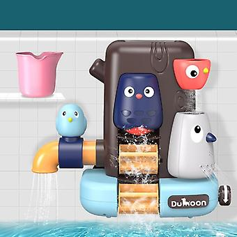 العمر 3 + حمام اللعب خط أنابيب المياه رذاذ دش لعبة