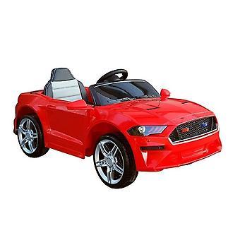 Elektrische kinderauto - met afstandsbediening - sportmodel rood