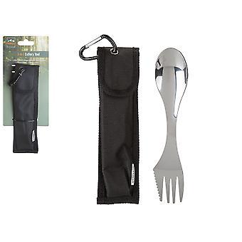 Summit Pinnacle Stainless Steel 3-In-1 Cutlery Tool
