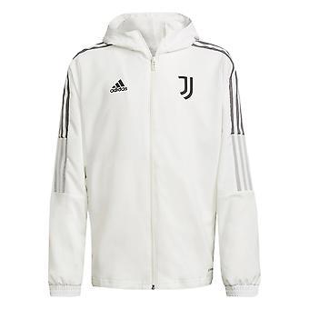 2021-2022 Juventus Presentation Jacket (White) - Kids