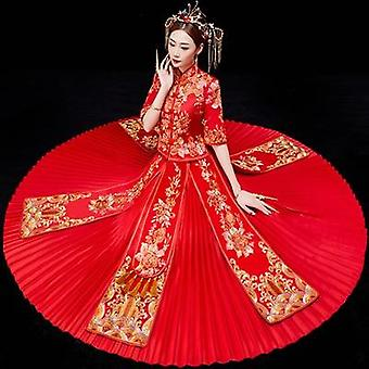 Fashionable Wedding Sleeves Gown