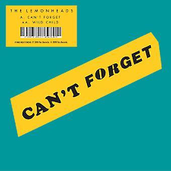 Citronhuvudena – Kan inte glömma / Wild Child Vinyl