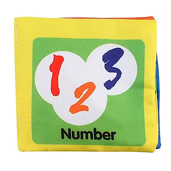Doodle Non-Toxic Soft Infant Early Learning Baby Cloth Book, Number