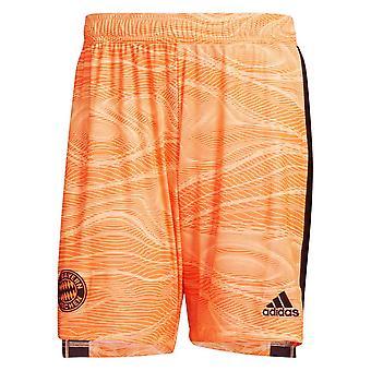 2021-2022 Bayern München Heimtorwart Shorts (Orange)