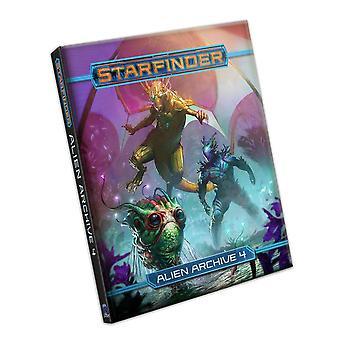 Starfinder RPG: Alien Archive 4 by Paizo Staff (Hardcover, 2021)
