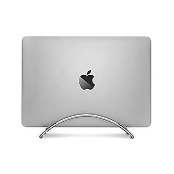 Twelve South BookArc for MacBook | Space-saving vertical desktop stand for Apple notebooks (silver)*Newest Version*