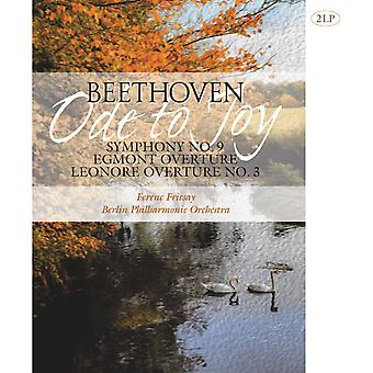 Ludwig van Beethoven - Ode To Joy Symphony No. 9, Egmont Overure, Leonore Overture No. 3 Vinyl
