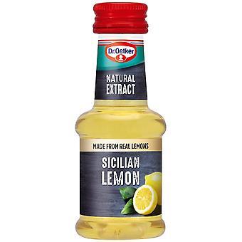 Dr Oetker Sicilian Lemon Extract