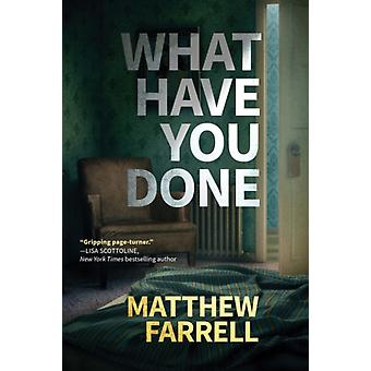 Mitä olet tehnyt Farrell & Matthew'lta