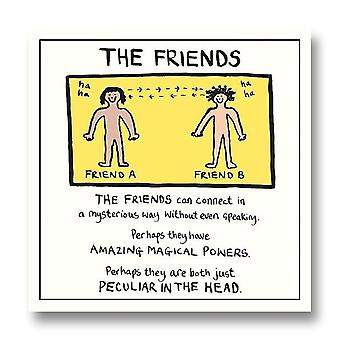 Pigment Edward Monkton - The Friends Everyday Blank Card Sf809a
