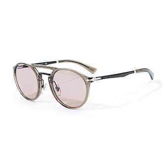 Persol Antique Grey Lens Sunglasses - Opal Smoke