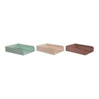 Classification tray DKD Home Decor Iron (3 pcs)