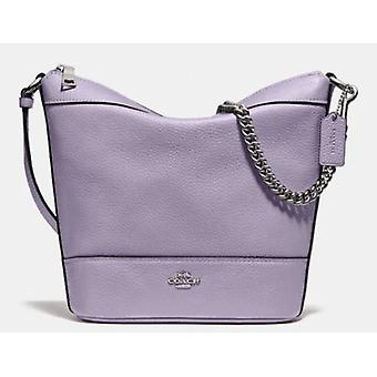 Coach F76668 Small Paxton Chain Duffle Bag Lilac Leather