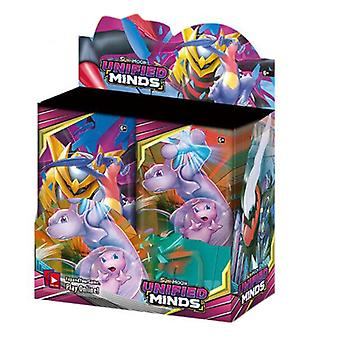 324pcs/box Gx Ex Unified Minds Trading Cards Game Toys Collection Card English
