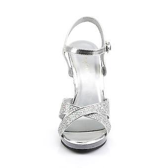 Fabulicious Frauen's Schuhe FLAIR-419(G) Slv Multi Glitter/Clr