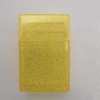 塑料闪亮透明烟盒盒