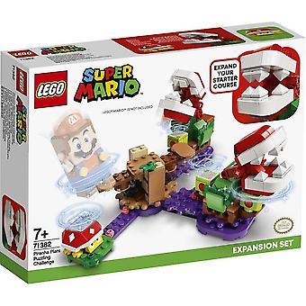 Lego Super Mario Piranha Plant Rätselhafte Herausforderung Erweiterung Set 71382