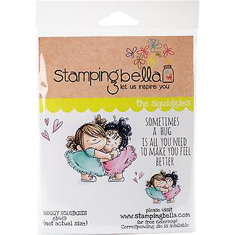 Stamping Bella Cling Stamps - Huggy Squidgies