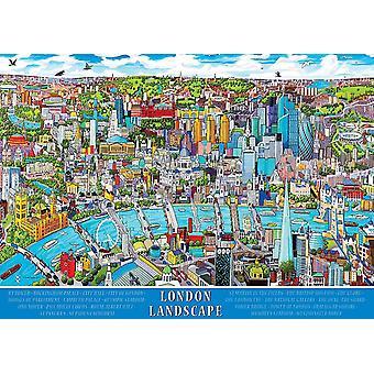 Ravensburger Lontoon maisema palapeli (1000 kappaletta)
