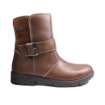 Ricosta Ranka 7227200-264 Nugat Leather Girls Mid Calf Stivali