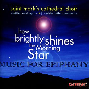 St. Mark's Cathedral Choir - How Brightly Shines the Morning Star [CD] USA import