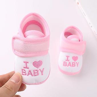 Newborn Soft Sole Cartoon Anti-slip Shoes, Cotton Baby Shoes