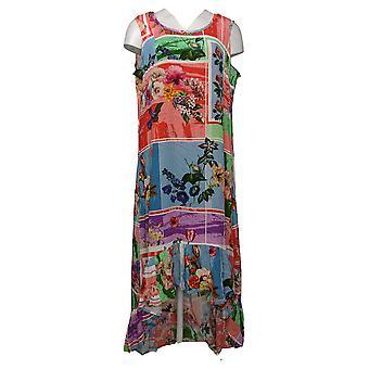 Tolani Collection Dress Regular Flounce Hem Pink A392871