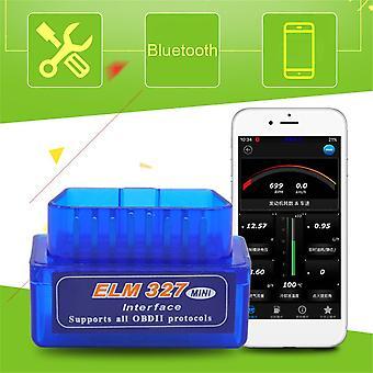 Mini Elm327 Obd2 Ii Bluetooth Diagnostic Voiture Auto Interface Scanner