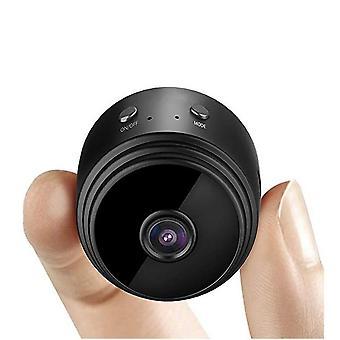 ミニHD 4kワイヤレス隠しカメラ、ホームWifiリモートセキュリティカメラ、スマートモーション検出、インスタントプッシュ通知、リモート再生、磁気Featu